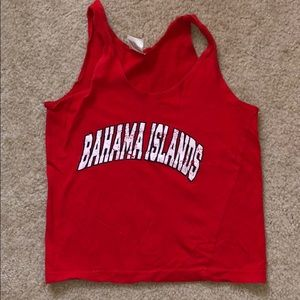 Other - BOYS - Red Bahama Islands 🌴 Tank Top - Size 2-4